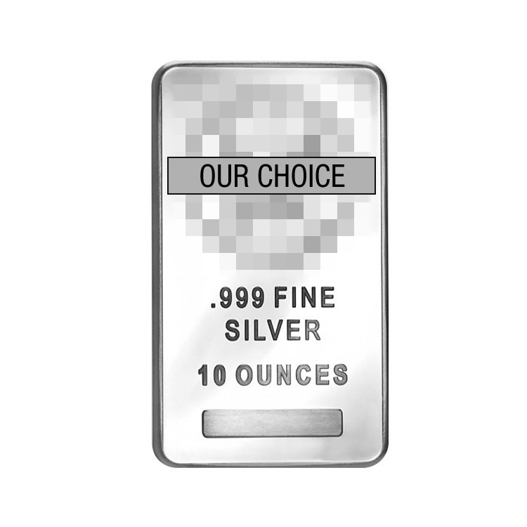 Silver Bar 10 Oz For Sale At Goldsilver 174