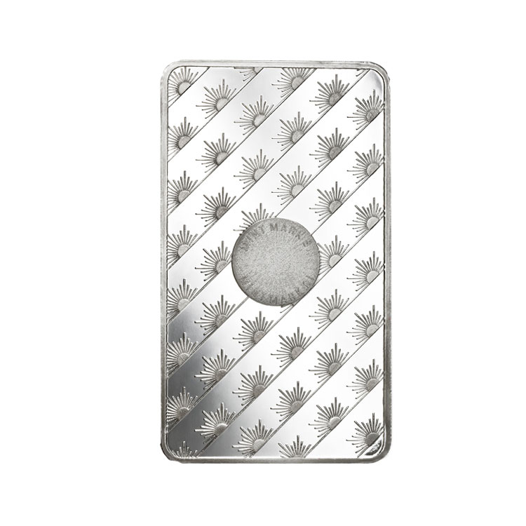 10 Oz Sunshine Mint Silver Bar Buy Online At Goldsilver