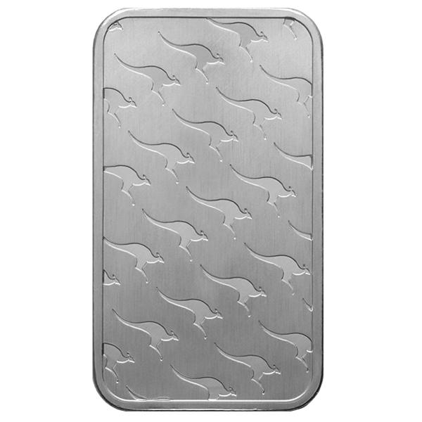 1 Oz Perth Mint Kangaroo Silver Bar Buy Online At