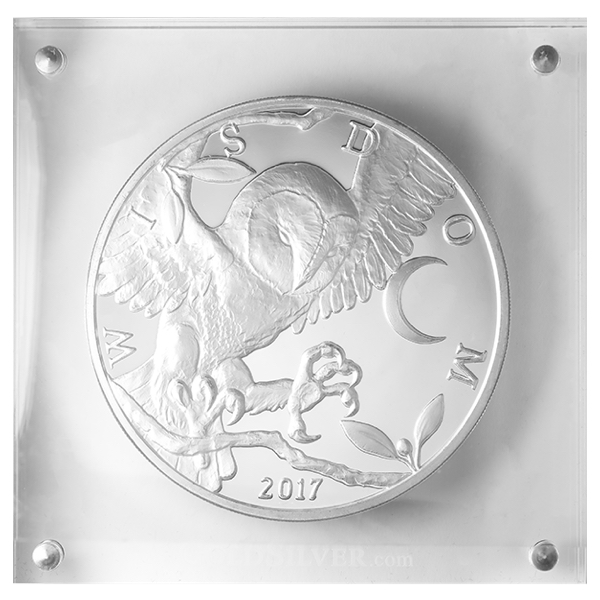 10 Oz Athenian Owl Silver Round 2017 Buy Online At