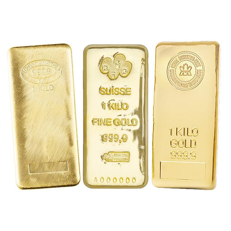 1 Kilo Gold Bar Online At Goldsilver