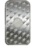 goldsilver.com - Sunshine Mint Silver Bar 1 oz Back