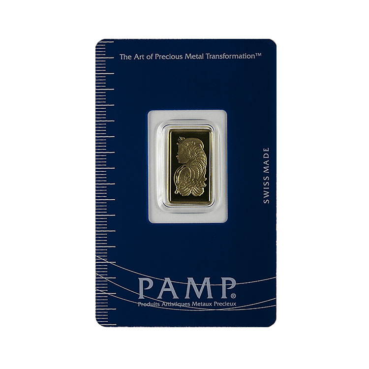 2 5 G Pamp Gold Bar Suisse Lady Fortuna For Sale At