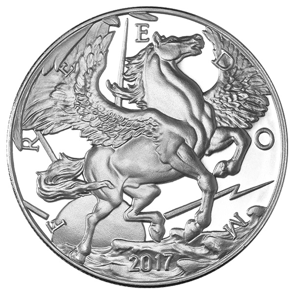 1 Oz Pegasus Silver Round 2017 Buy Online At Goldsilver 174