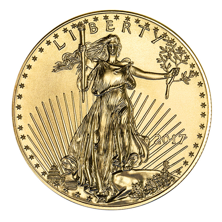 1 Oz American Gold Eagle Coin 2017 Buy Online At