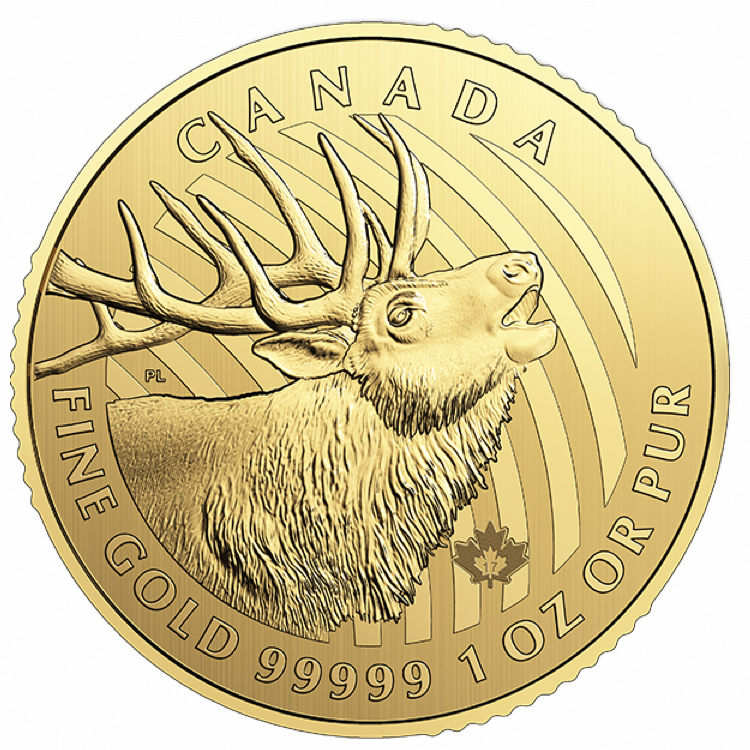 1 Oz Canadian Golden Eagle Coin With Assay 2018 Buy