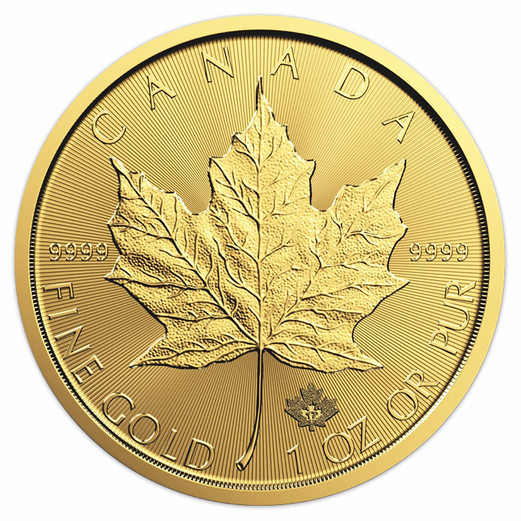 1 Oz Canadian Gold Maple Leaf Coin 2017 Buy Online At