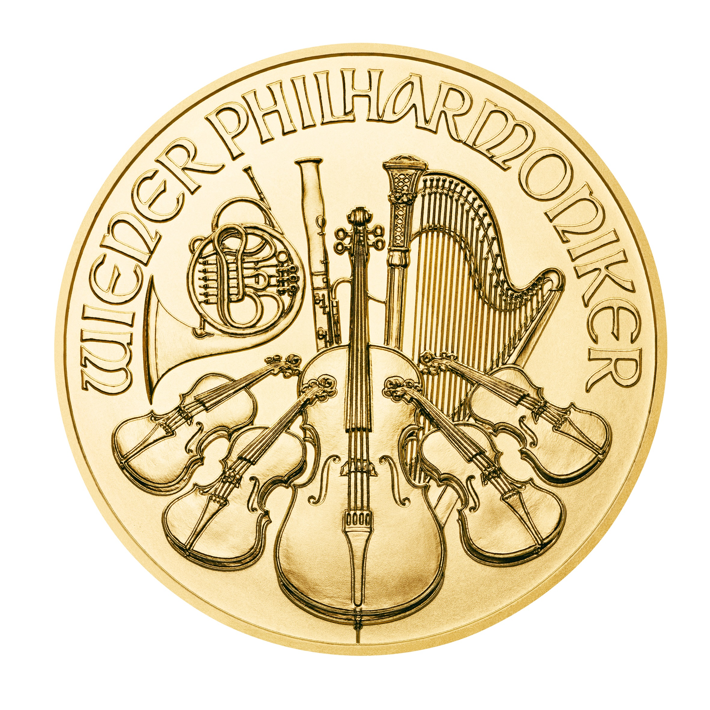 goldsilver.com - 1 oz Austrian Gold Philharmonic Coin (2017) Back