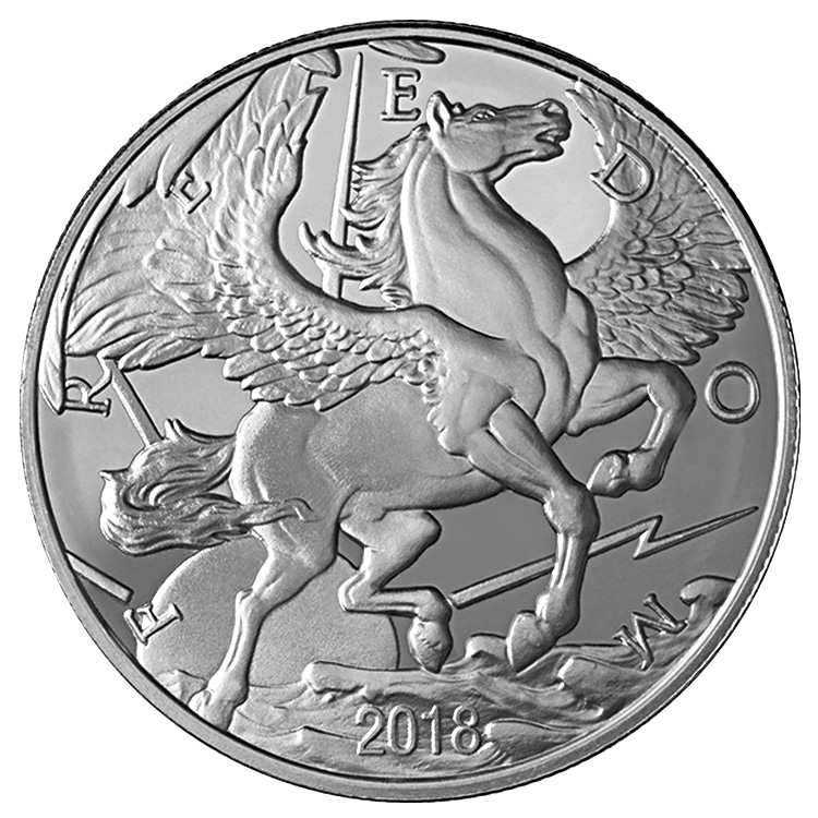1 Oz Pegasus Silver Round 2018 Buy Online At Goldsilver 174
