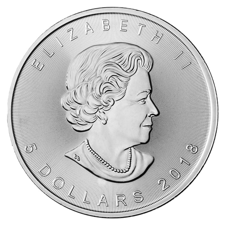 1 Oz Canadian Silver Maple Leaf Coin 2018 Buy Online