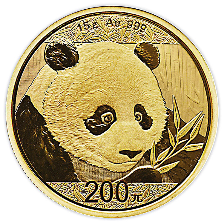 15 G Chinese Gold Panda Coin 2018 Buy Online At