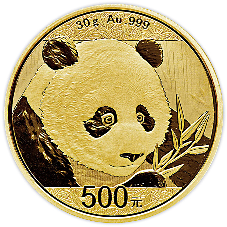 30 G Chinese Gold Panda Coin 2018 Buy Online At