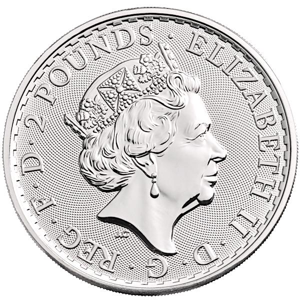 1 Oz Silver Britannia Coin 2018 Buy Online At Goldsilver 174