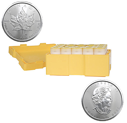 Mint Case Canadian Silver Maple Leaf