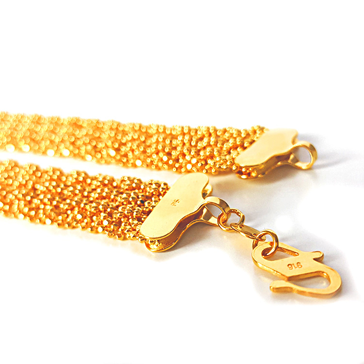 22k Gala Gold Necklace 16 Length Buy Online At