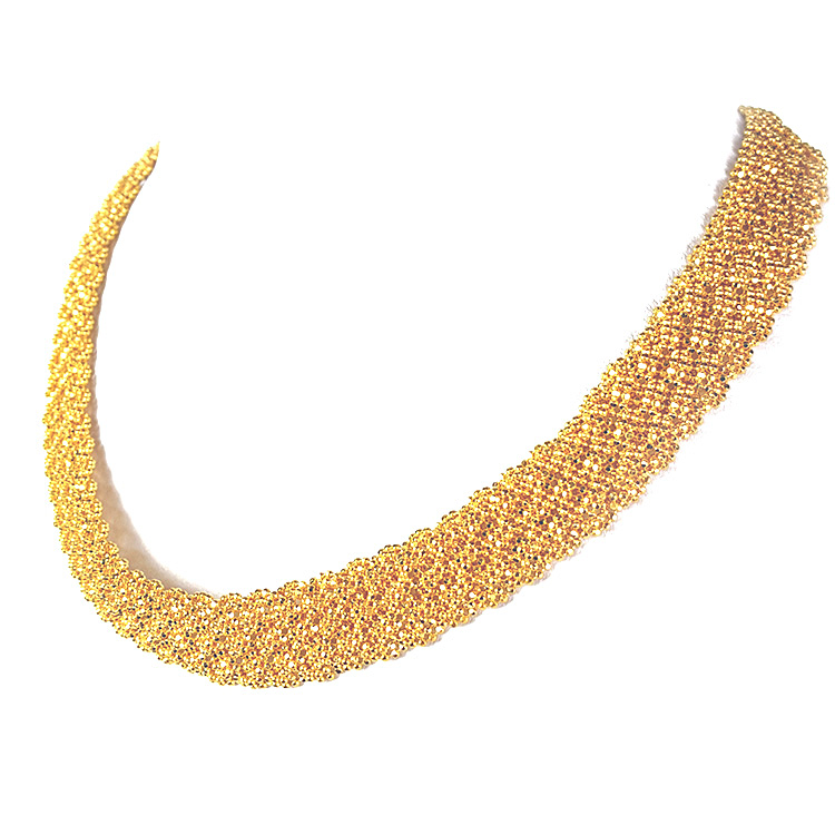 "22K Gala Gold Necklace (16"" Length) - Buy Online at GoldSilver®"