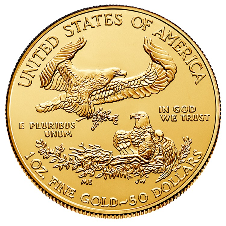 1 Oz American Gold Eagle Coin 2019 Buy Online At