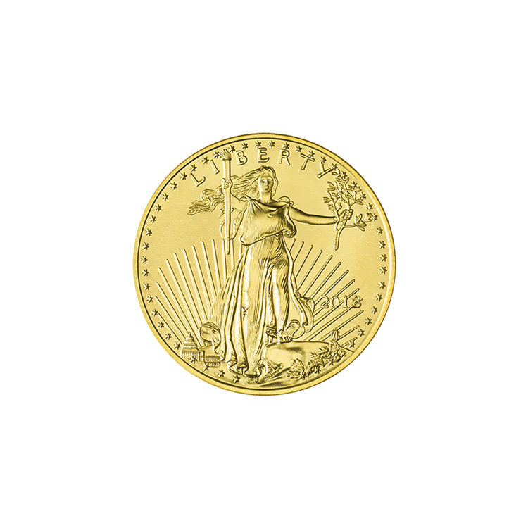 1 10 Oz Gold Eagle Coin 2018 Buy Online At Goldsilver 174