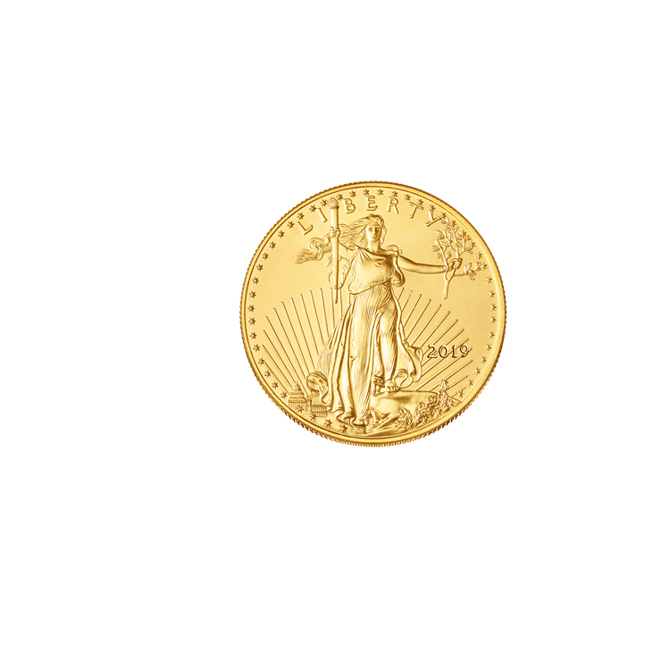 1 10 Oz Gold Eagle Coin 2019 Online At Goldsilver