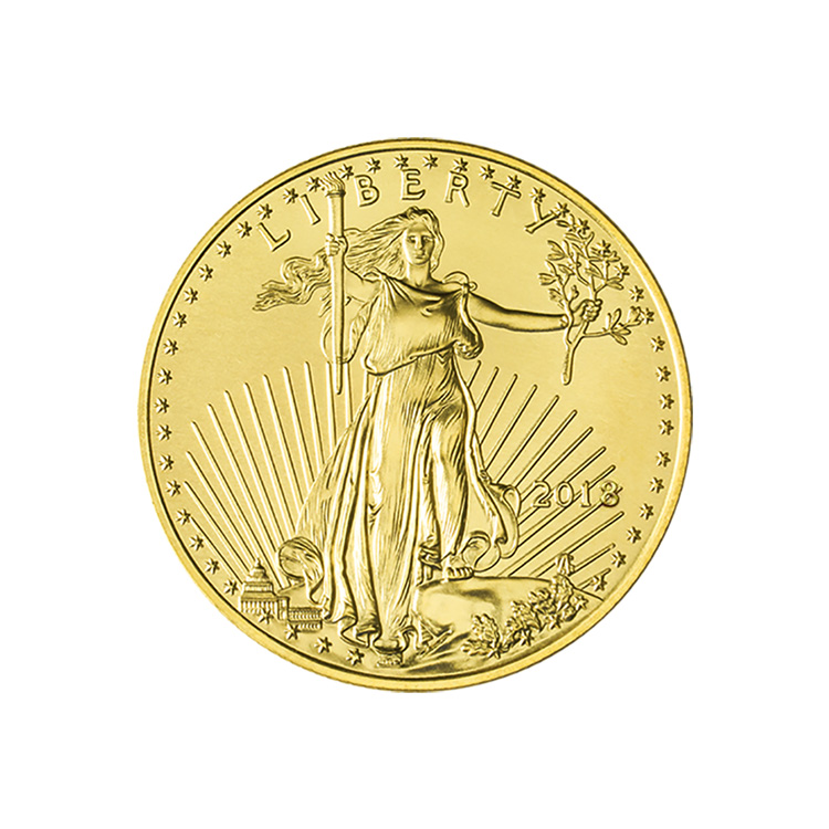 1 4 Oz American Gold Eagle Coin 2018 Buy Online At