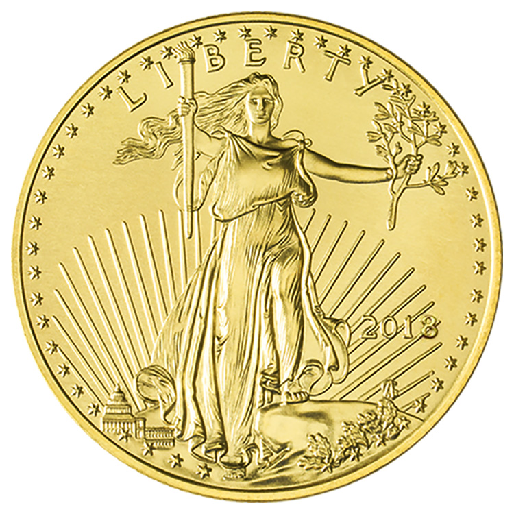 1 Oz American Gold Eagle Coin 2018 Buy Online At