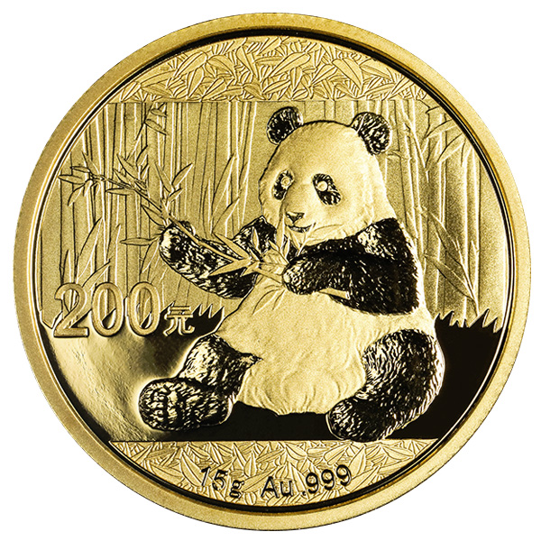 15 G Chinese Gold Panda Coin 2017 Buy Online At