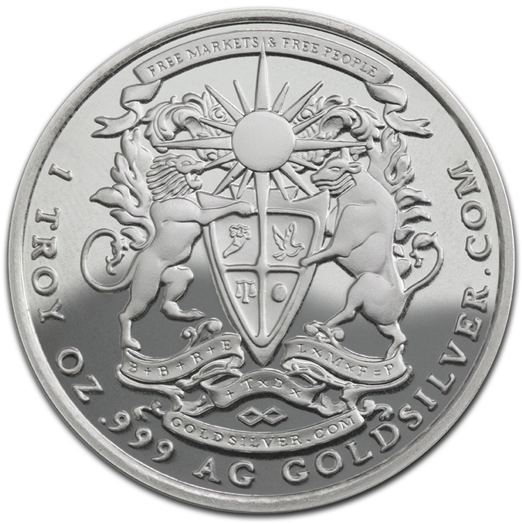 Silver Pegasus Round 1 Oz 2015 For Sale At Goldsilver 174