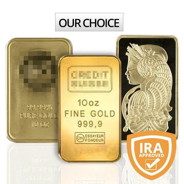 10 Oz Gold Bars For Sale Buy Online At Goldsilver 174