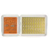 goldsilver.com - Valcambi CombiBar Gold 50 g Back