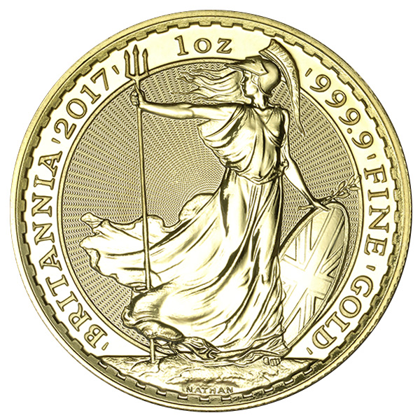 1 Oz Gold Britannia Coin 2017 Buy Online At Goldsilver 174