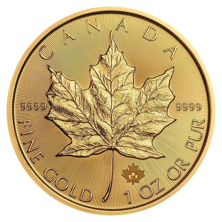 goldsilver.com - 2016 1 oz Canadian Maple Leaf Gold Coin Back