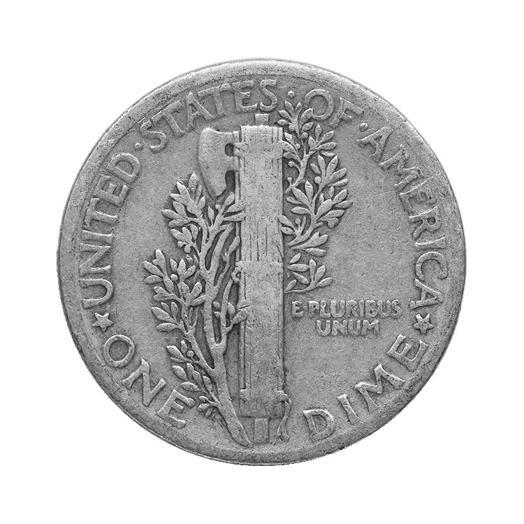 1 00 Face Value Mercury Dimes For Sale At Goldsilver 174