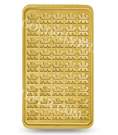 goldsilver.com - Royal Canadian Mint Gold Bar 1 oz Back