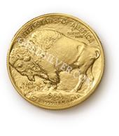 goldsilver.com - American Gold Buffalo Coin 1 oz Back