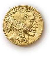 goldsilver.com - American Gold Buffalo Coin 1 oz Front