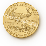 goldsilver.com - American Gold Eagle Coin 1/2 oz Back