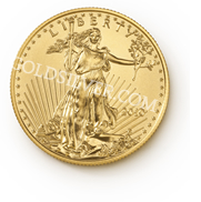 goldsilver.com - American Gold Eagle Coin 1/2 oz Front