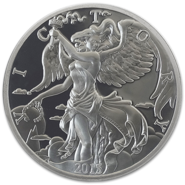 1 Oz Nike Silver Round For Sale At Goldsilver 174