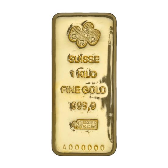 1 Kilo Pamp Suisse Gold Bar Buy Online At Goldsilver 174