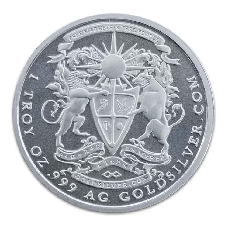 Silver Pegasus Round 1 Oz 2014 For Sale At Goldsilver 174