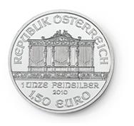 goldsilver.com - Austrian Silver Philharmonic Coin 1 oz Back
