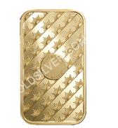 goldsilver.com - Sunshine Mint Gold Bar 1 oz Back