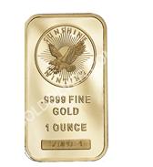 goldsilver.com - Sunshine Mint Gold Bar 1 oz Front