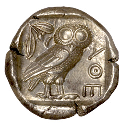 1 Oz Athenian Owl Silver Round 2017 Buy Online At