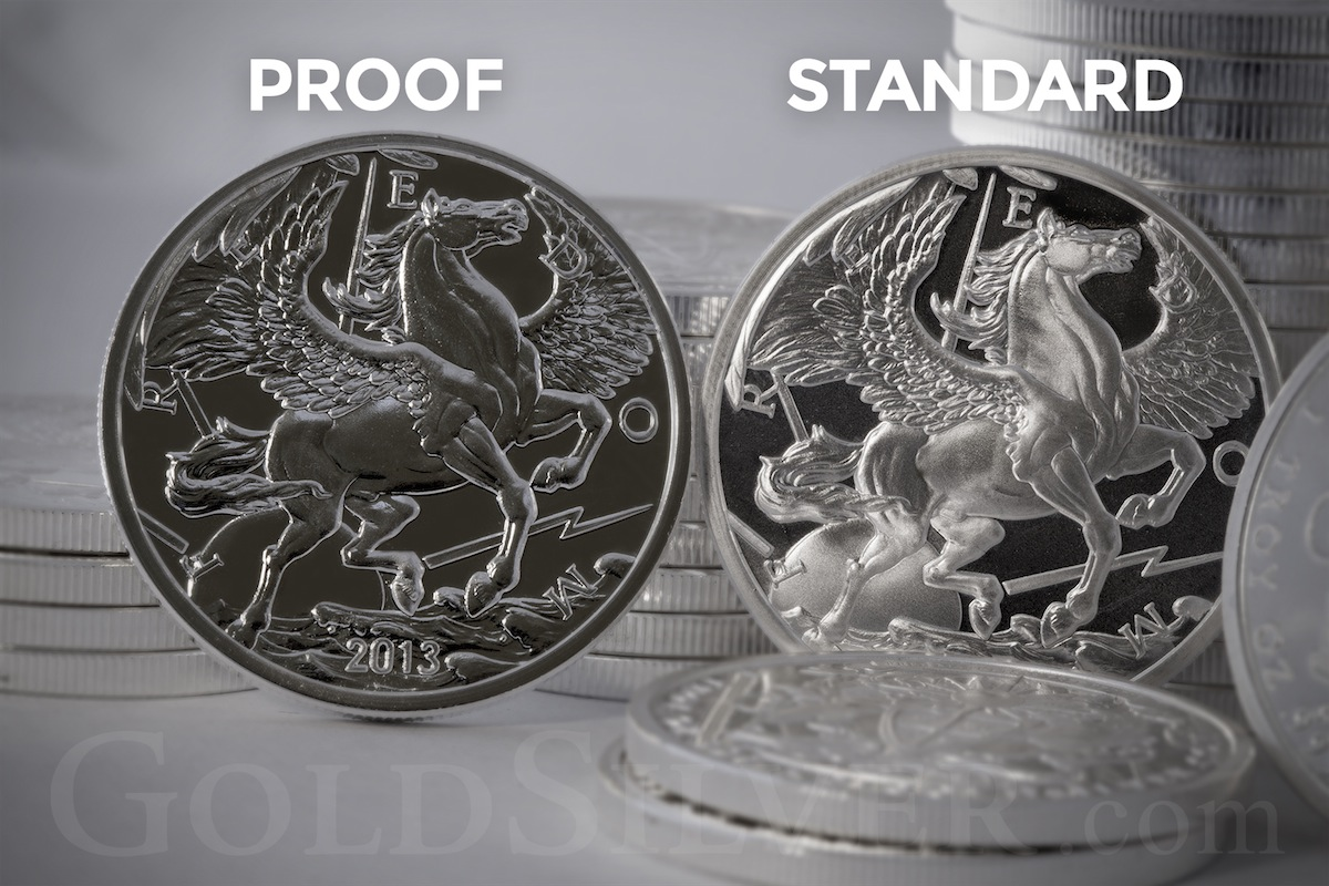 Silver Pegasus Proof Round 1 Oz For Sale At Goldsilver 174