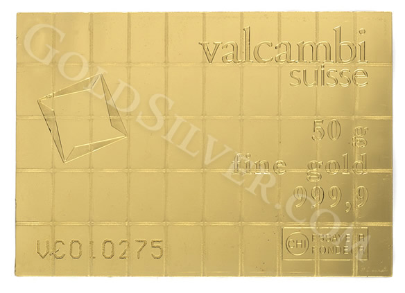 Buy Gold Valcambi Gold Combibar Breakable Gold Bar