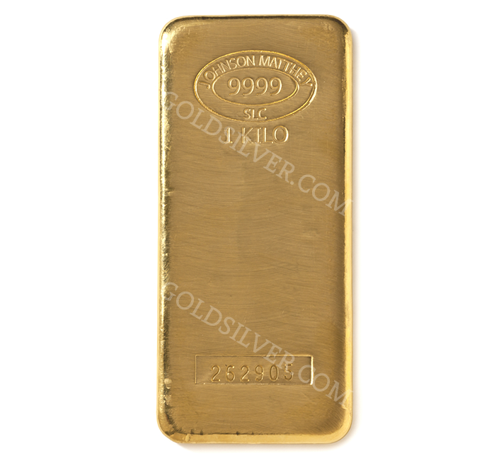 Johnson Matthey Gold Bar 1 Kilo For Sale At Goldsilver 174