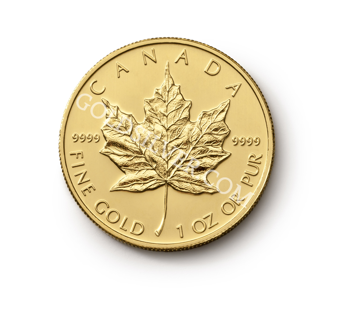 Maple Leaf Gold Coin 1 Oz Goldsilver Com