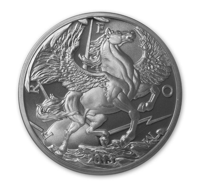 Silver Pegasus Round 1 Oz 2013 Goldsilver Com