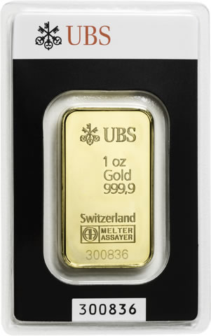 1 Oz Ubs Gold Bar For Sale At Goldsilver 174